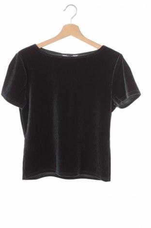 Детска блуза Designed For Tesor, Размер 15-18y/ 170-176 см, Цвят Сив, 90% полиестер, 10% еластан, Цена 6,82лв.