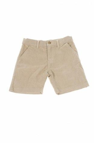 Detské krátke nohavice  Gocco, Veľkosť 4-5y/ 110-116 cm, Farba Béžová, 70% bavlna, 28% polyester, 2% elastan, Cena  5,57€