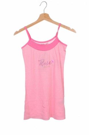 Μπλουζάκι αμάνικο παιδικό Naf Naf, Μέγεθος 7-8y/ 128-134 εκ., Χρώμα Ρόζ , Βαμβάκι, Τιμή 8,74€