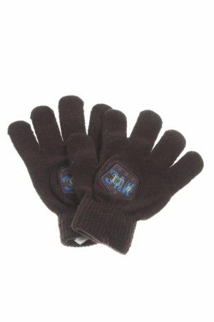 Mănuși de copii, Culoare Maro, 84%acril, 15% poliamidă, 1% elastan, Preț 10,22 Lei