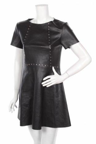 Kožené šaty  Zara