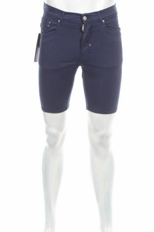 Pánske kraťasy  Antony Morato, Veľkosť S, Farba Modrá, 97% bavlna, 3% elastan, Cena  22,94€