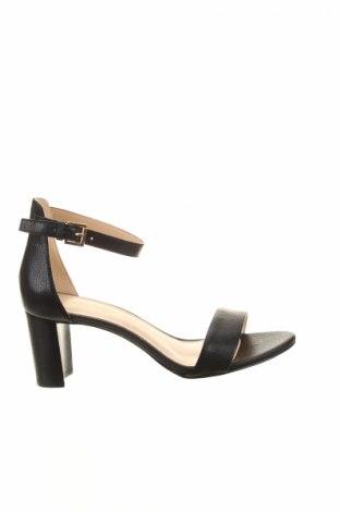 Сандали Nine West, Размер 36, Цвят Черен, Естествена кожа, Цена 98,45лв.