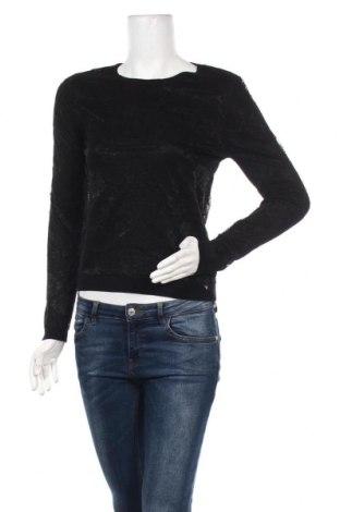 Дамска блуза Guess, Размер S, Цвят Черен, 30% полиамид, 70% вискоза, Цена 62,30лв.