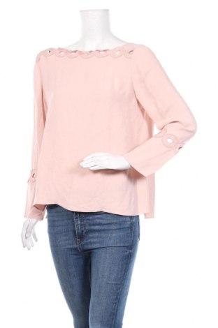 Дамска блуза Massimo Dutti, Размер L, Цвят Розов, Вискоза, Цена 27,04лв.