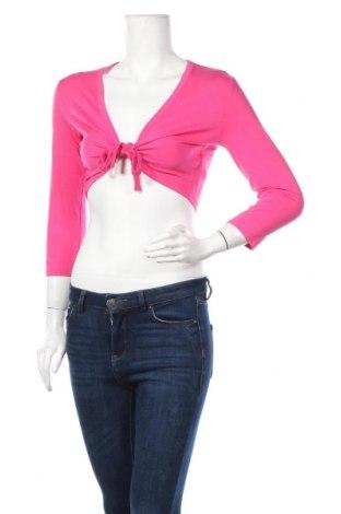 Γυναικεία ζακέτα G.W., Μέγεθος S, Χρώμα Ρόζ , 62% βισκόζη, 8% ελαστάνη, Τιμή 9,94€