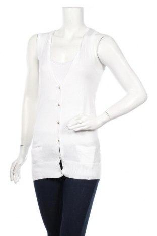 Дамска жилетка La Redoute, Размер XS, Цвят Бял, Памук, Цена 5,95лв.