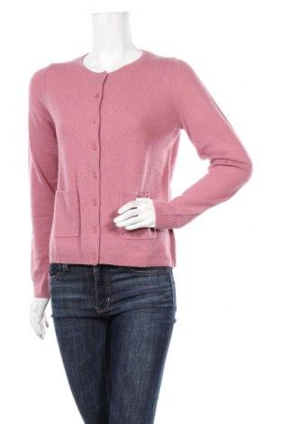 Дамска жилетка Perfect Cashmere, Размер L, Цвят Розов, Кашмир, Цена 121,72лв.