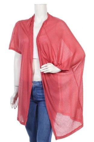 Γυναικεία ζακέτα Pink Woman, Μέγεθος M, Χρώμα Ρόζ , 65% πολυεστέρας, 35% βισκόζη, Τιμή 5,23€