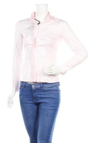 Дамска риза Massimo Dutti, Размер XS, Цвят Розов, 75% памук, 20% полиамид, 5% еластан, Цена 30,68лв.