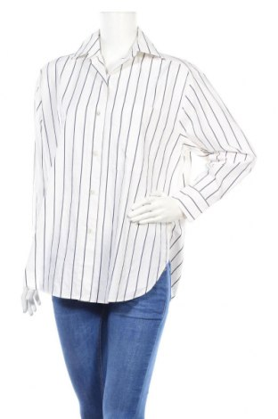Дамска риза Massimo Dutti, Размер S, Цвят Бял, 100% памук, Цена 24,80лв.
