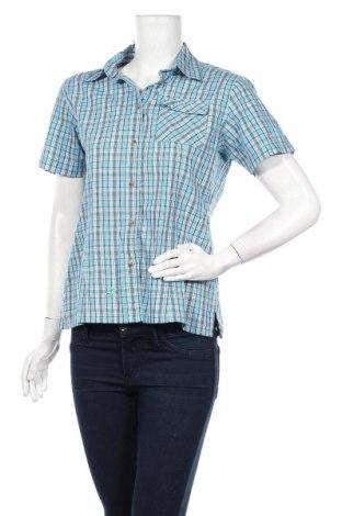 Дамска риза McKinley, Размер M, Цвят Син, 65% полиестер, 35% памук, Цена 26,00лв.