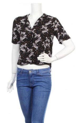 Дамска риза Zara Trafaluc, Размер M, Цвят Многоцветен, Цена 33,00лв.