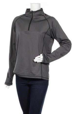 Дамска спортна блуза Atrium, Размер L, Цвят Сив, 92% полиестер, 8% еластан, Цена 16,56лв.