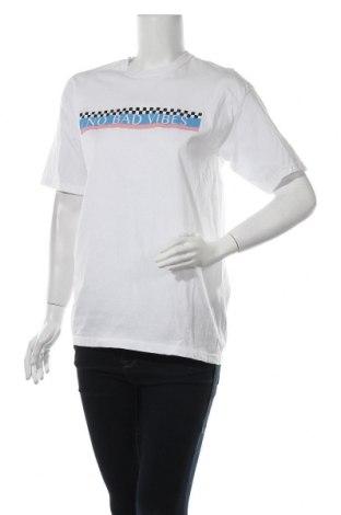 Дамска тениска Boohoo, Размер L, Цвят Бял, Памук, Цена 14,50лв.