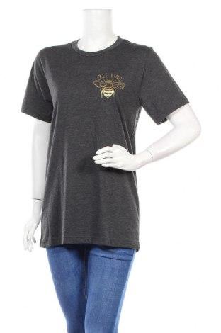 Дамска тениска Canvas, Размер M, Цвят Сив, 52% памук, 48% полиестер, Цена 28,60лв.
