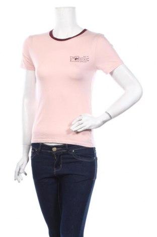 Дамска тениска Jack Wills, Размер M, Цвят Розов, 50% памук, 50% модал, Цена 25,35лв.