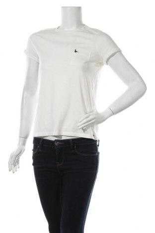 Дамска тениска Jack Wills, Размер S, Цвят Бял, 50% памук, 50% полиестер, Цена 27,30лв.