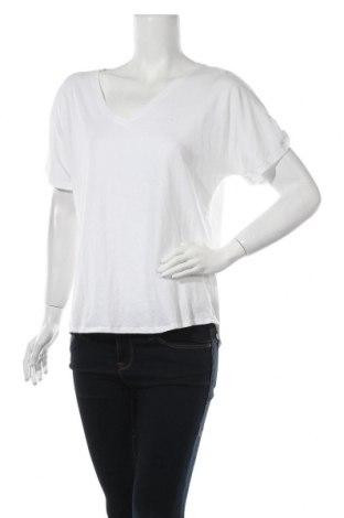 Дамска тениска Jack Wills, Размер L, Цвят Бял, 70% памук, 30% лен, Цена 27,30лв.