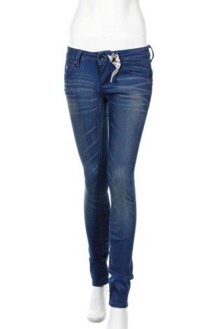 Дамски дънки G-Star Raw, Размер S, Цвят Син, 97% памук, 3% еластан, Цена 34,45лв.