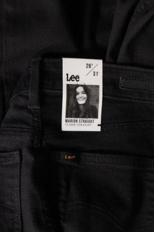Дамски дънки Lee, Размер S, Цвят Черен, 57% памук, 21% полиестер, 10% вискоза, 2% еластан, Цена 59,25лв.