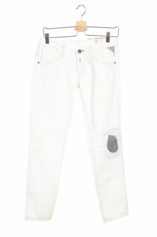 Дамски дънки Replay, Размер M, Цвят Бял, Памук, Цена 12,35лв.