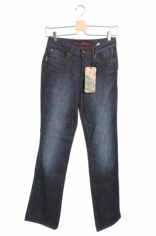 Дамски дънки Tom Tailor, Размер XS, Цвят Син, 98% памук, 2% еластан, Цена 18,54лв.