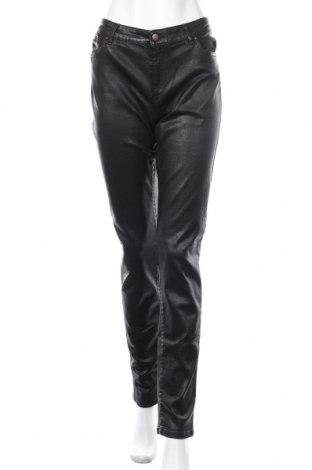 Дамски дънки Un Deux Trois, Размер XL, Цвят Черен, 98% памук, 2% еластан, Цена 78,97лв.