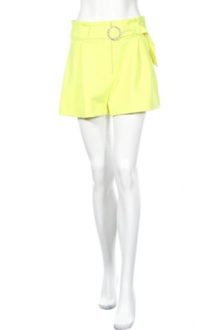 Дамски къс панталон River Island, Размер M, Цвят Зелен, Полиестер, Цена 24,70лв.