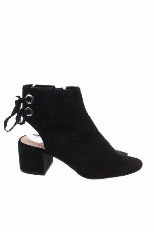 Γυναικεία παπούτσια Bershka, Μέγεθος 36, Χρώμα Μαύρο, Κλωστοϋφαντουργικά προϊόντα, Τιμή 19,77€