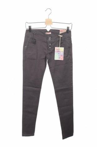 Γυναικείο παντελόνι Alcott, Μέγεθος XS, Χρώμα Γκρί, 98% βαμβάκι, 2% ελαστάνη, Τιμή 17,78€