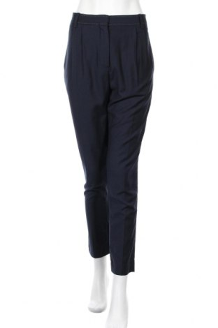 Дамски панталон By Malene Birger, Размер M, Цвят Син, 57% полиестер, 25% вискоза, 18% вълна, Цена 49,00лв.