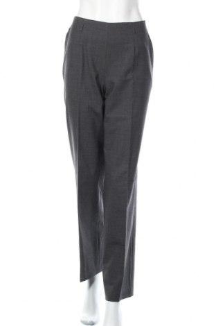 Дамски панталон Cyrillus, Размер M, Цвят Сив, 96% вълна, 4% еластан, Цена 24,99лв.