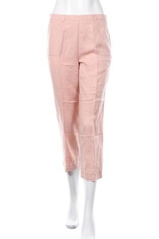Γυναικείο παντελόνι Cyrillus, Μέγεθος XS, Χρώμα Ρόζ , 55% lyocell, 45% λινό, Τιμή 8,96€