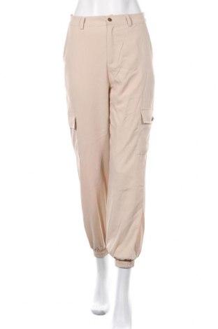 Дамски панталон In&Dit, Размер S, Цвят Бежов, Полиестер, Цена 9,14лв.