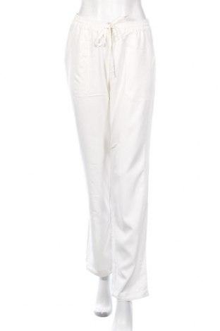 Γυναικείο παντελόνι Laura Scott, Μέγεθος M, Χρώμα Λευκό, 70% βισκόζη, 30% πολυεστέρας, Τιμή 10,97€