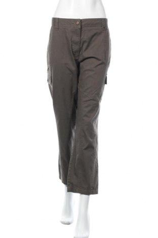 Дамски панталон Nkd, Размер XXL, Цвят Кафяв, 98% памук, 2% еластан, Цена 25,88лв.