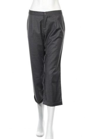 Дамски панталон SUN68, Размер L, Цвят Сив, 50% вълна, 50% полиестер, Цена 24,52лв.