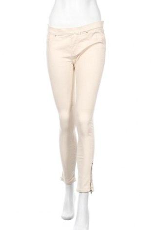 Дамски панталон Zara, Размер M, Цвят Бежов, Цена 13,60лв.