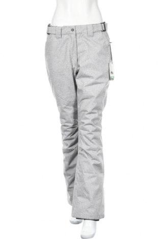 Дамски панталон за зимни спортове Sun Valley, Размер M, Цвят Сив, Полиестер, Цена 44,52лв.