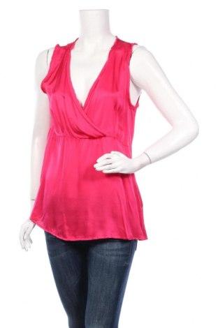 Γυναικείο αμάνικο μπλουζάκι Lauren Vidal, Μέγεθος L, Χρώμα Ρόζ , Βισκόζη, Τιμή 11,23€