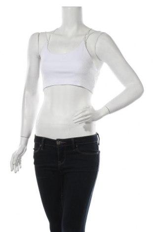 Γυναικείο αμάνικο μπλουζάκι Nasty Gal, Μέγεθος S, Χρώμα Λευκό, 95% πολυεστέρας, 5% ελαστάνη, Τιμή 5,32€