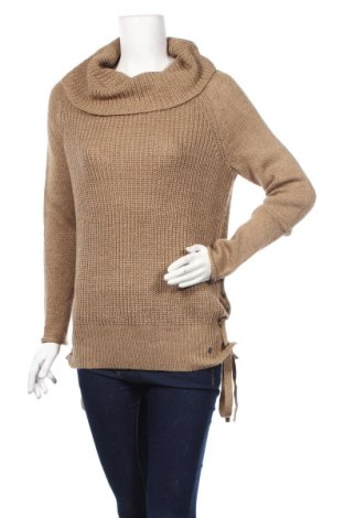 Дамски пуловер Ajc, Размер S, Цвят Кафяв, 100% полиакрил, Цена 18,90лв.