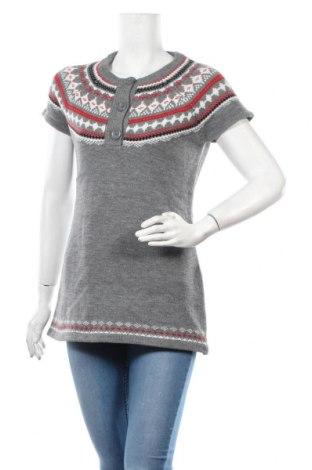 Дамски пуловер Ajc, Размер M, Цвят Сив, 50% полиакрил, 50% памук, Цена 20,16лв.