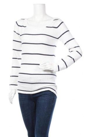 Дамски пуловер Ajc, Размер M, Цвят Бял, 50% акрил, 50% памук, Цена 21,84лв.