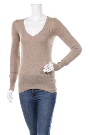 Дамски пуловер Alcott, Размер M, Цвят Бежов, 80% памук, 20% полиамид, Цена 34,30лв.