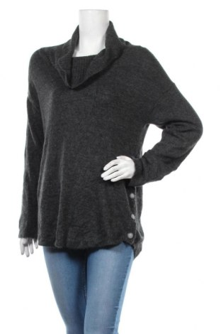 Дамски пуловер Alyx, Размер L, Цвят Сив, 68% акрил, 4% еластан, 2% полиестер, Цена 27,72лв.
