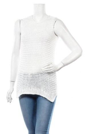 Γυναικείο πουλόβερ C&A, Μέγεθος S, Χρώμα Λευκό, 59% βαμβάκι, 41% πολυαμίδη, Τιμή 5,07€