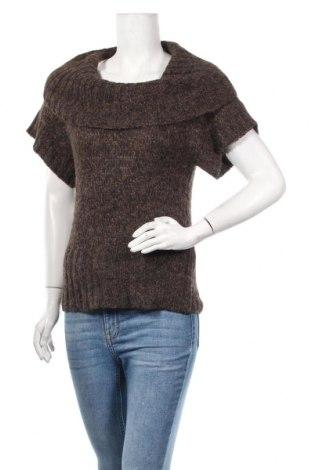 Γυναικείο πουλόβερ Camaieu, Μέγεθος S, Χρώμα Καφέ, 55%ακρυλικό, 25% μαλλί, 20% μαλλί από αλπακά, Τιμή 3,64€