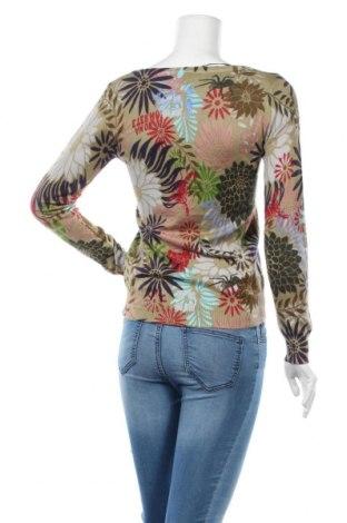 Дамски пуловер Desigual, Размер S, Цвят Многоцветен, 53% памук, 42% вискоза, 5% коприна, Цена 89,25лв.